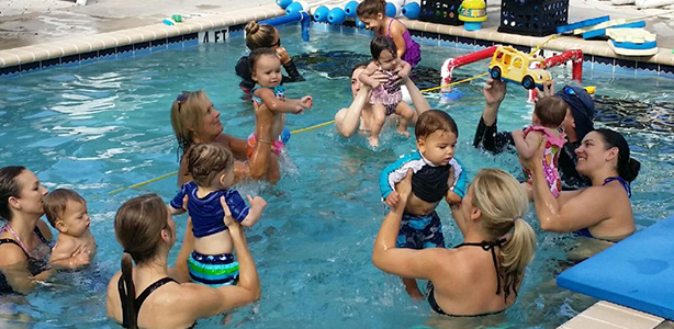 Image result for parent and tot swim